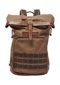 Fossil Defender Waxed Backpack