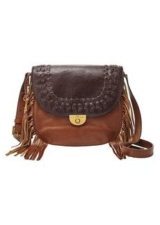Fossil® Emi Large Saddle Bag Crossbody