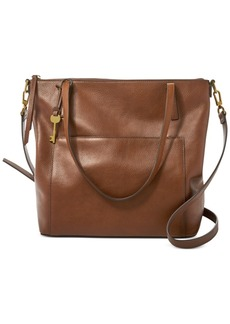 Fossil Evelyn Leather Tote