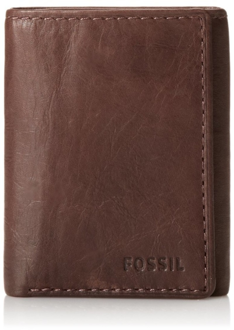 Fossil Ingram Extra Capacity Trifold Men's Wallet