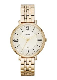 Fossil 'Jacqueline' Round Bracelet Watch, 36mm