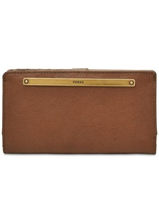 Fossil Liza Bi-Fold Leather Wallet