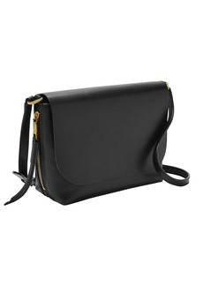 Fossil Maya Small Flap Crossbody Bag black