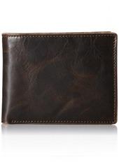 Fossil Men's Anderson Flip ID Bifold Wallet Black -