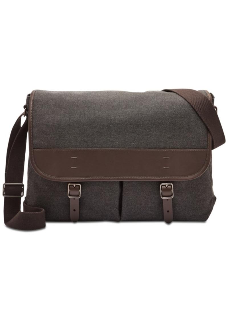 Fossil Men's Buckner Canvas Messenger Bag