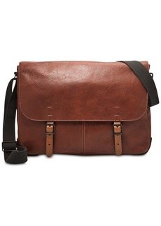 Fossil Men's Buckner Leather Messenger Bag