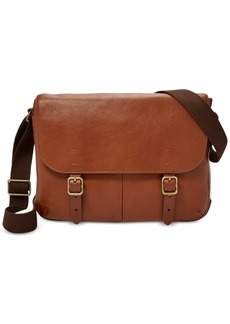 Fossil Men's Buckner Small Leather Commuter Bag