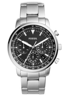 Fossil Men's Chronograph Goodwin Stainless Steel Bracelet Watch 44mm