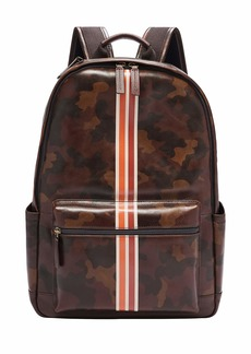 Fossil Men's Classic Leather Backpack