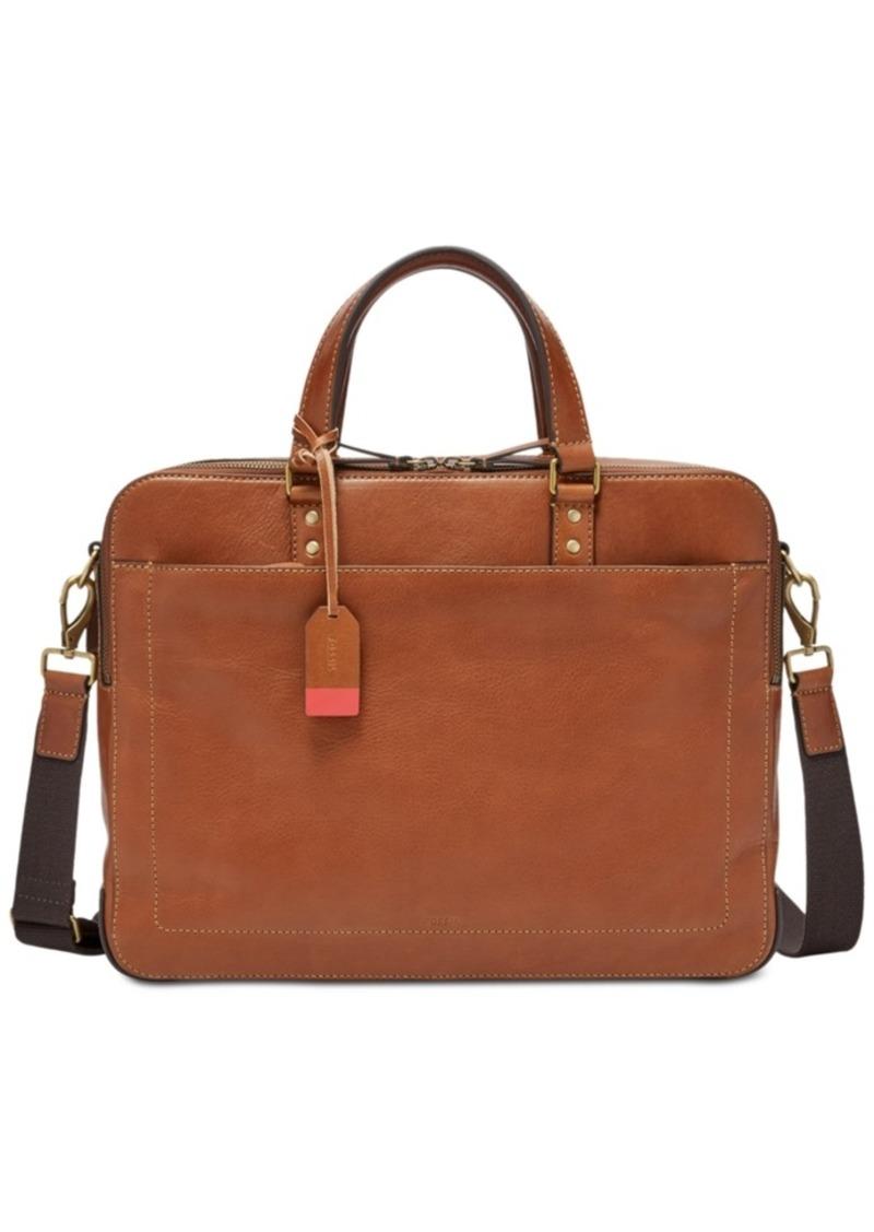 Fossil Men's Double-Zip Workbag