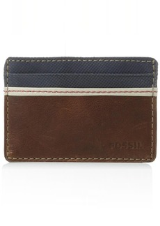 Fossil Men's Elgin Leather Card Case Wallet