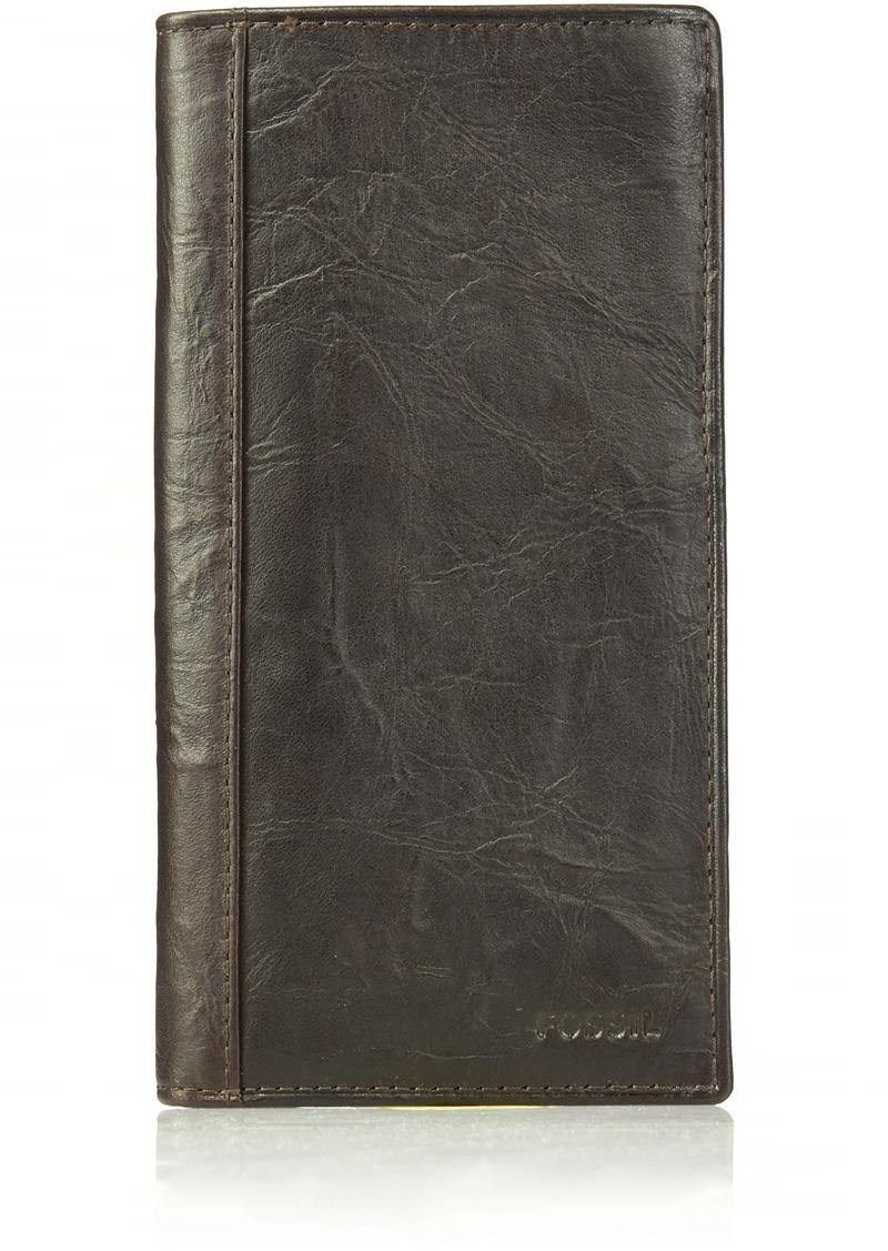 Fossil Men's Execufold Wallet Neel-Brown