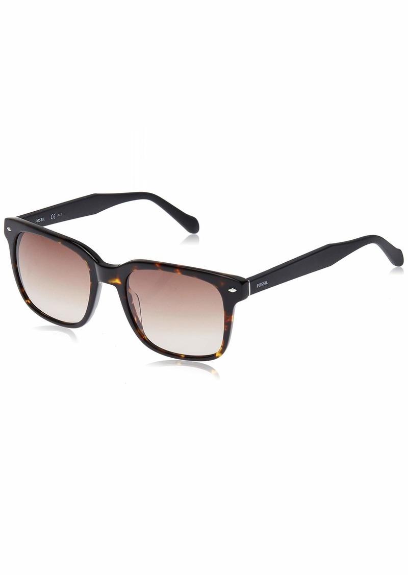 Fossil Men's Fos 2056/s Square Sunglasses DKHAVANA 53 mm