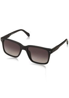 Fossil Men's Fos 2076/s Square Sunglasses MTT Black 54 mm