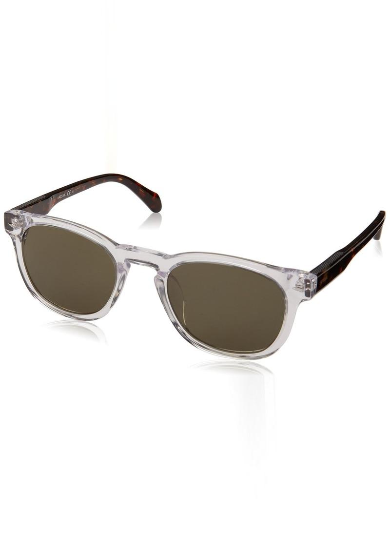 Fossil Men's Fos 2077/s Round Sunglasses