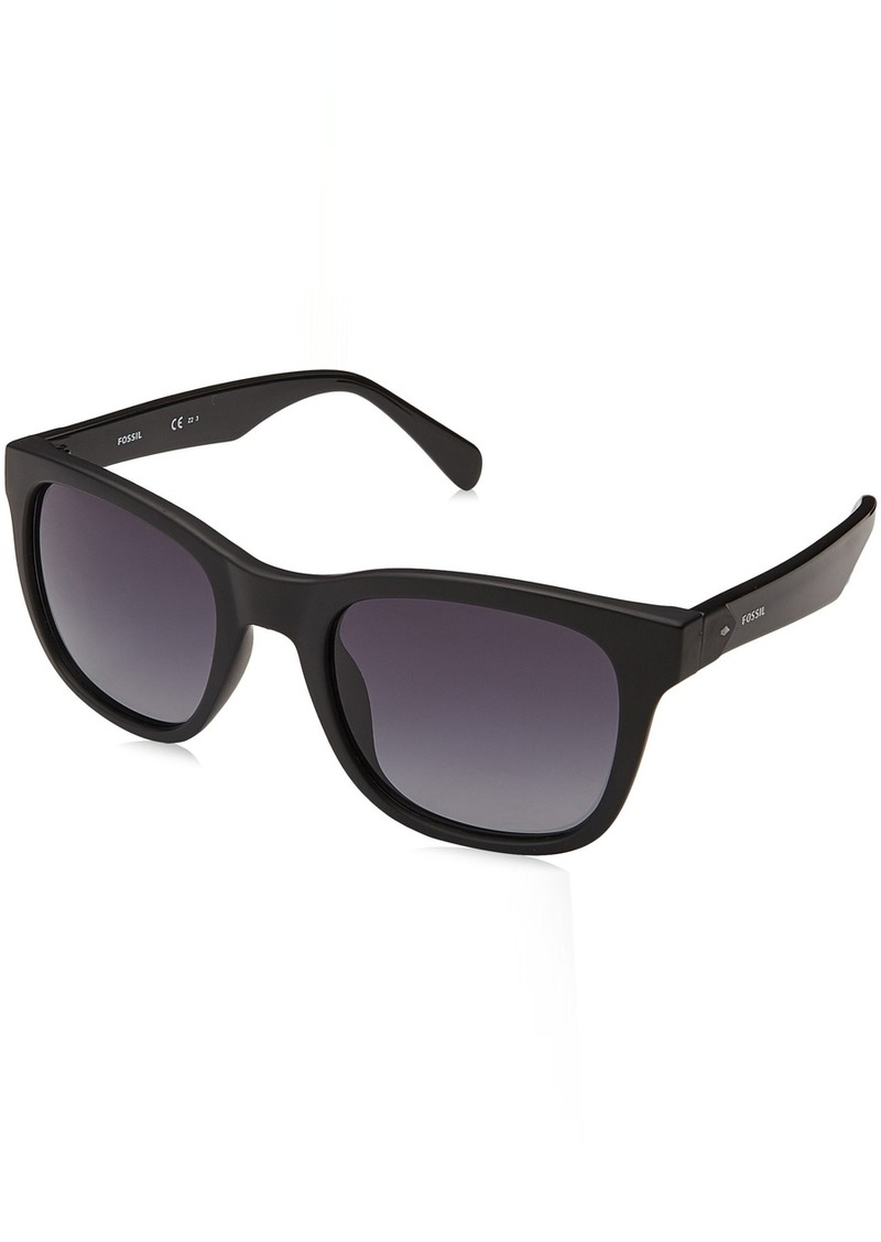 Fossil Men's Fos 3067/s Square Sunglasses MTT BLACK 52 mm