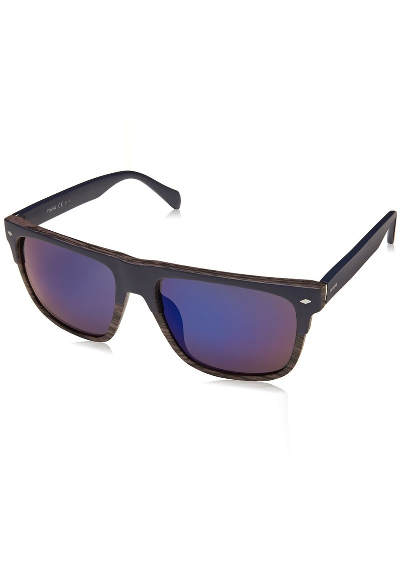 Fossil Men's Fos 3075/s Square Sunglasses  56 mm