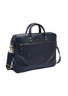 Fossil Men's Haskell Double Zip Briefcase
