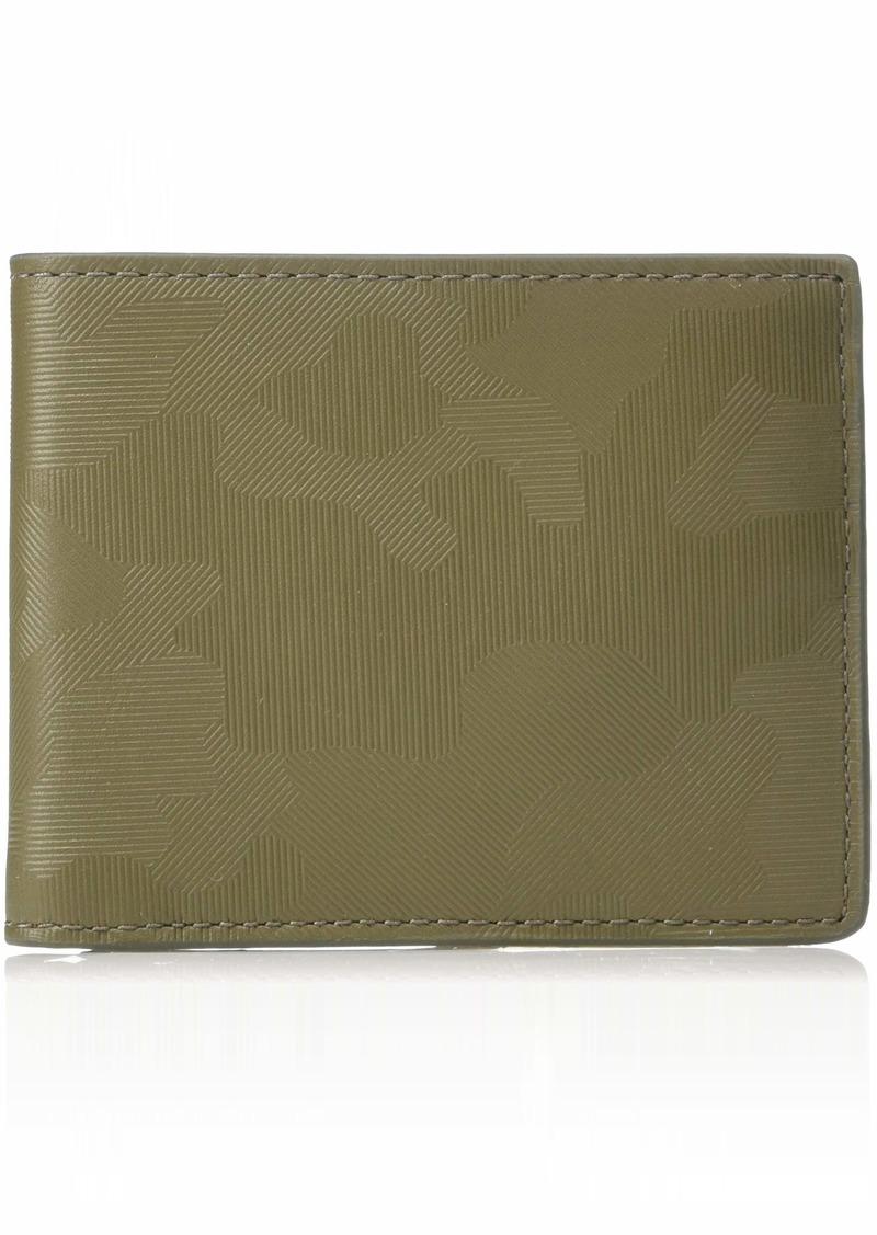 Fossil Men's Jerome Leather Bifold Flip ID Wallet