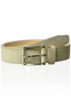 Fossil Men's Jim Suede Belt Grey