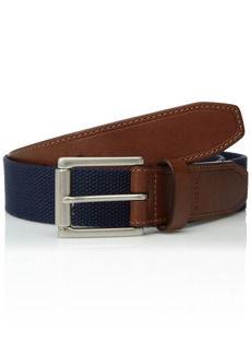 Fossil Men's Lewis Belt navy