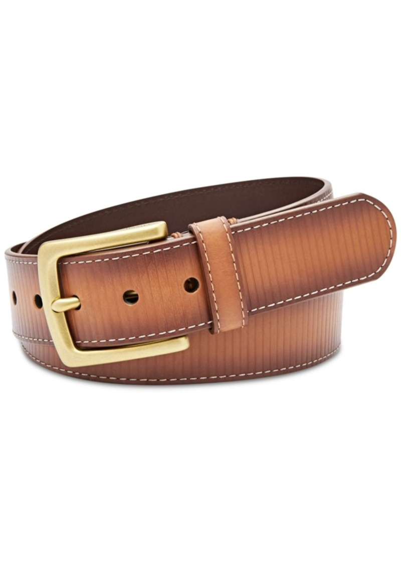 ec80beaadb Fossil Fossil Men s Remy Embossed Leather Belt