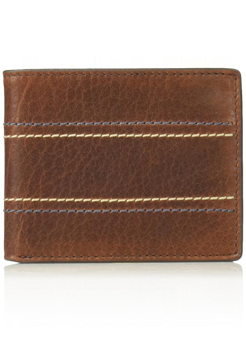Fossil Men's  RFID Blocking Bifold Flip ID Wallet