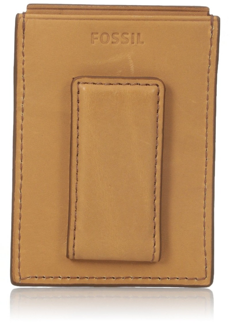 timeless design 63997 23d16 Men's Rfid Blocking Ford Magnetic Card Case