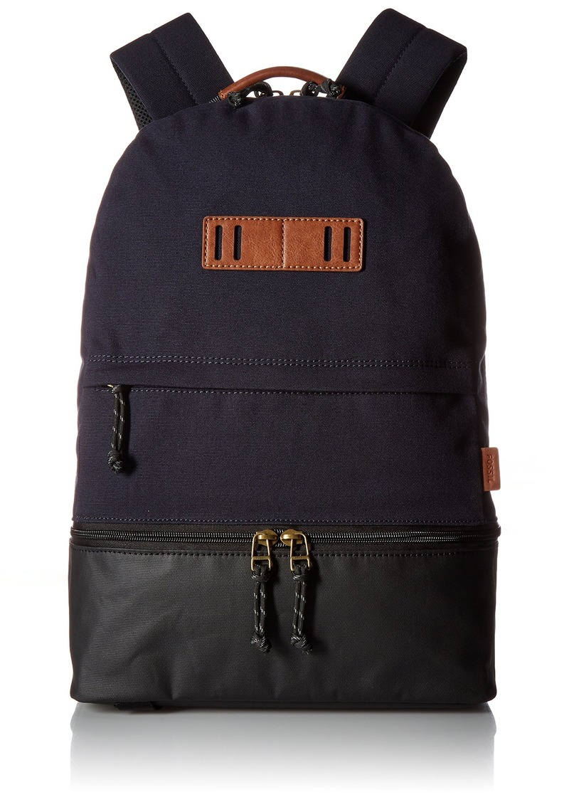 Fossil Men's Summit Backpack Navy