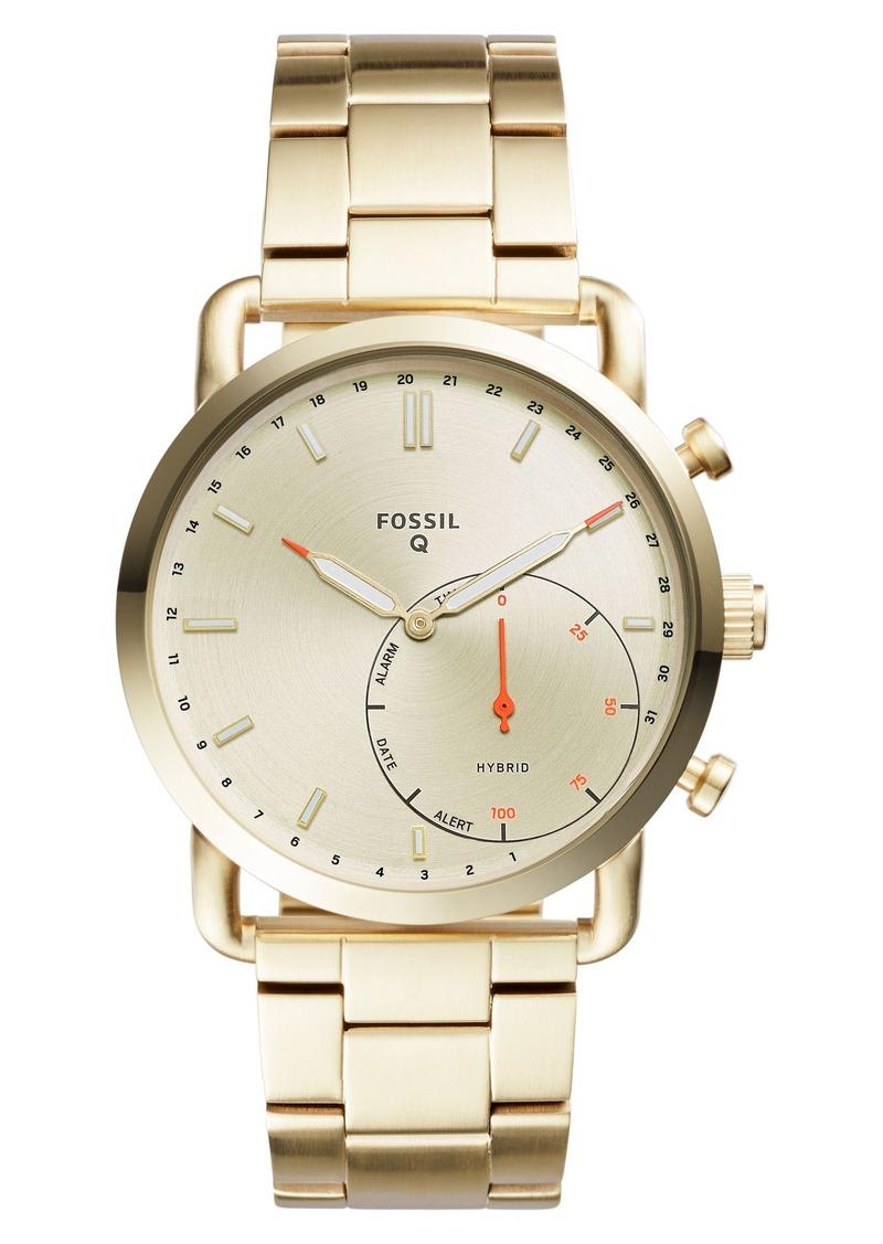 On Sale Today Fossil Fossil Q Commuter Bracelet Hybrid Smart Watch