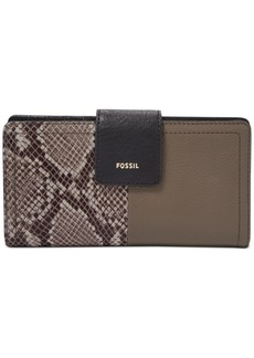 Fossil Rfid Logan Leather Tab Wallet