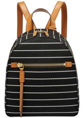 Fossil Striped Megan Backpack