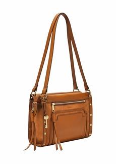 Fossil Women's Allie Leather Satchel Handbag