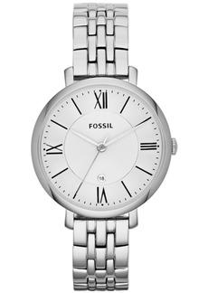 Fossil Women's Jacqueline Stainless Steel Bracelet Watch 36mm ES3433