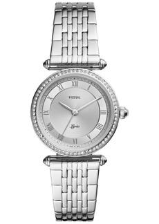 Fossil Women's Lyric Stainless Steel Bracelet Watch 32mm