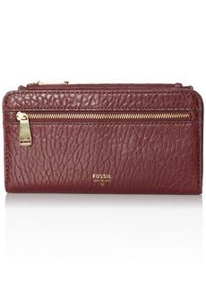 Fossil Women's Preston Zip Bifold Wallet