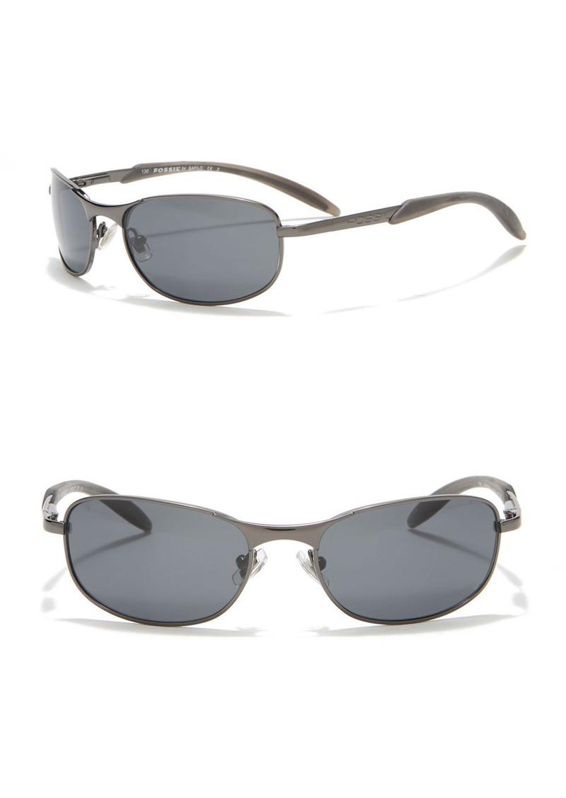 Fossil Hydro 57mm Sunglasses