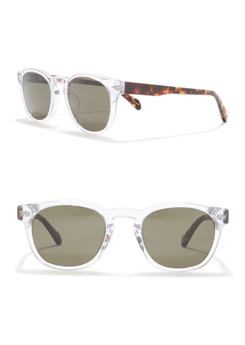 Fossil Modified Round 51mm Sunglasses