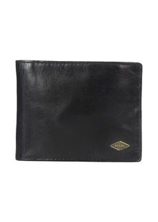 Fossil Ryan RFID Leather Passcase Wallet