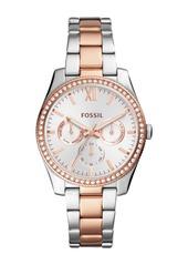 Fossil Women's Scarlette Crystal Bracelet Watch, 32mm