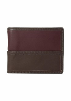 Fossil Tate Bifold with Flip ID