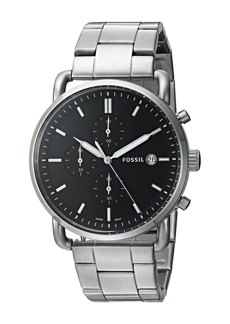 On Sale Today Fossil The Commuter Chrono Fs5399 Jr1437 Jr 1437 Original
