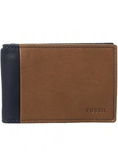 Fossil Ward RFID Money Clip Bifold