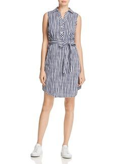 Foxcroft Adele Gingham Shirt Dress