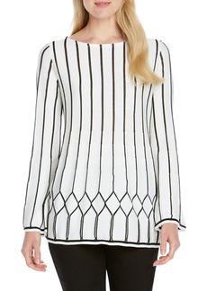 Foxcroft Affina Pointelle Stitch Sweater