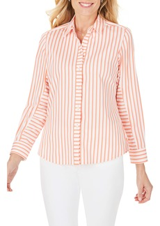 Foxcroft Ava Essential Stripe Non-Iron Shirt