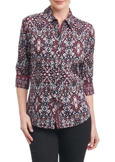 Foxcroft Ava Heirloom Paisley Shirt (Regular & Petite)