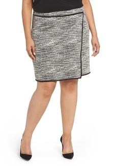 Foxcroft Blithe Double Knit Skirt (Plus Size)