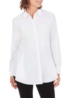 Foxcroft Cici Solid Stretch Shirt
