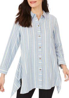 Foxcroft Edison Striped Tunic